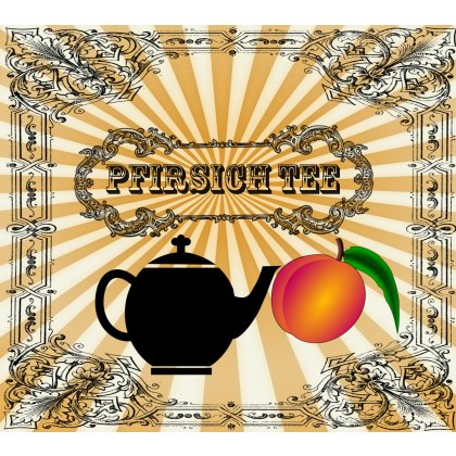 Pfirsich Tee