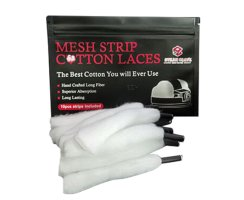 Steam Crave Mesh M Strip Cotton Laces Wickelwatte