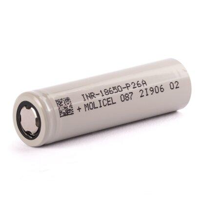 Molicel INR18650-P26A 2600 mAh Akku